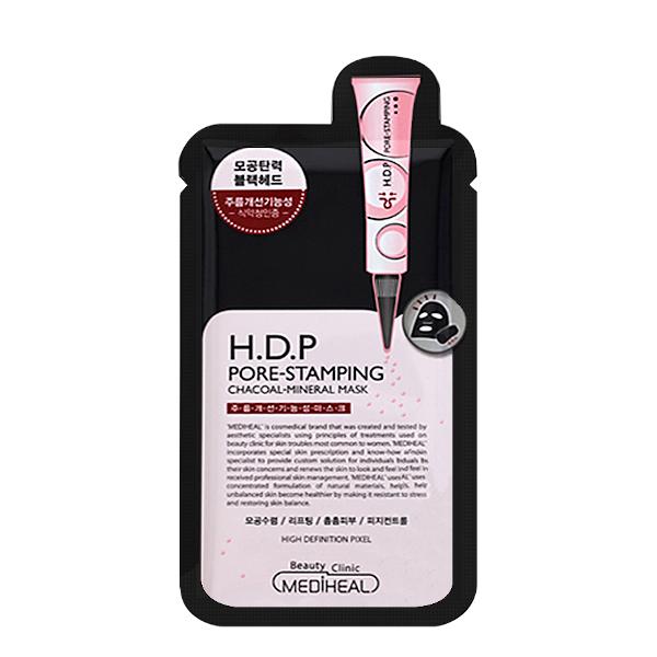 Mediheal - H.D.P Pore Stamping Black Mask EX Pack