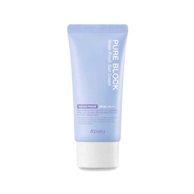 A'PIEU - Pure Block Crème solaire hydrofuge SPF50+ PA+++