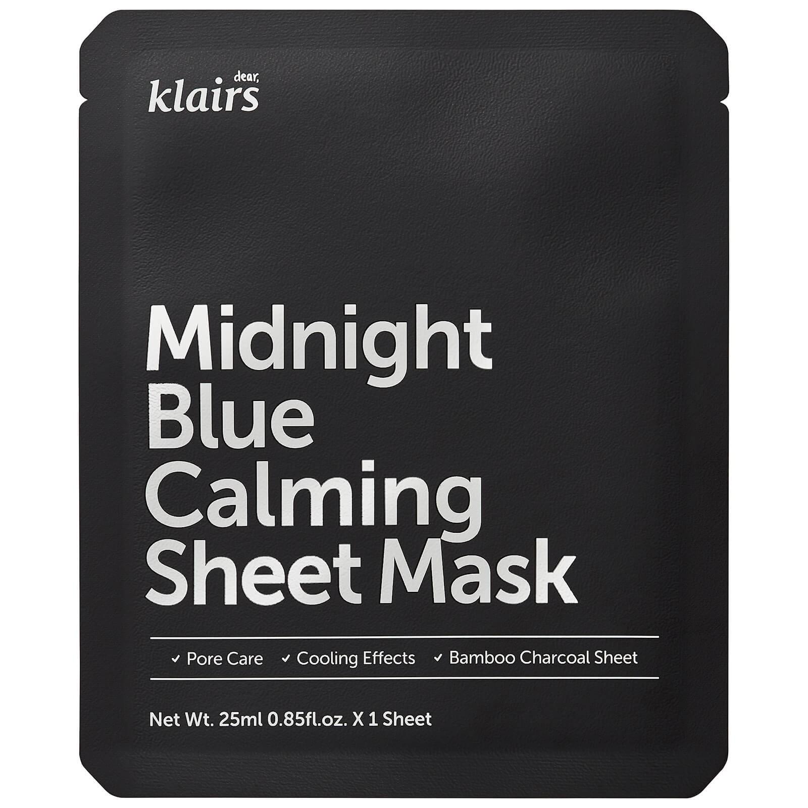Dear, Klairs - Midnight Blue Calming Sheet Mask