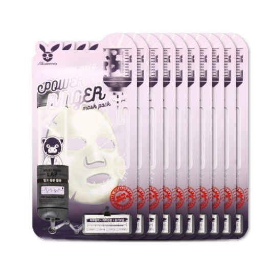 Elizavecca - Pack de masques de lait Deep Power Ringer