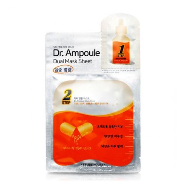 Etude House - Dr. Ampoule Dual Mask Sheet - No.Vital Care