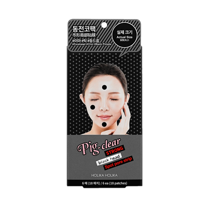 Holika Holika - Pig Nose Clear Strong Blackhead Spot Pore Strip Pack