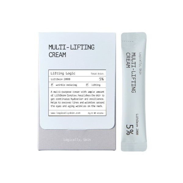 Logically, Skin - Multi-lifting Cream Stick Pouch - 2g * 10ea