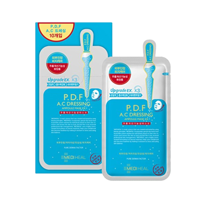 Mediheal - P.D.F A.C Dressing Ampoule Mask Pack EX - 10 pc