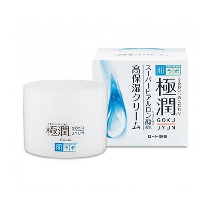 Rohto Mentholatum - Crème hydratante à l'acide hyaluronique Hada Labo Goku-Jyun