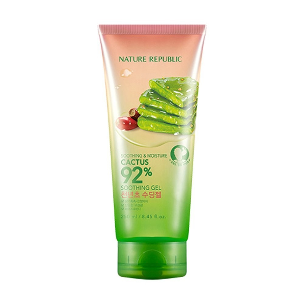 NATURE REPUBLIC - Gel Apaisant 92% Cactus Apaisant & Hydratant