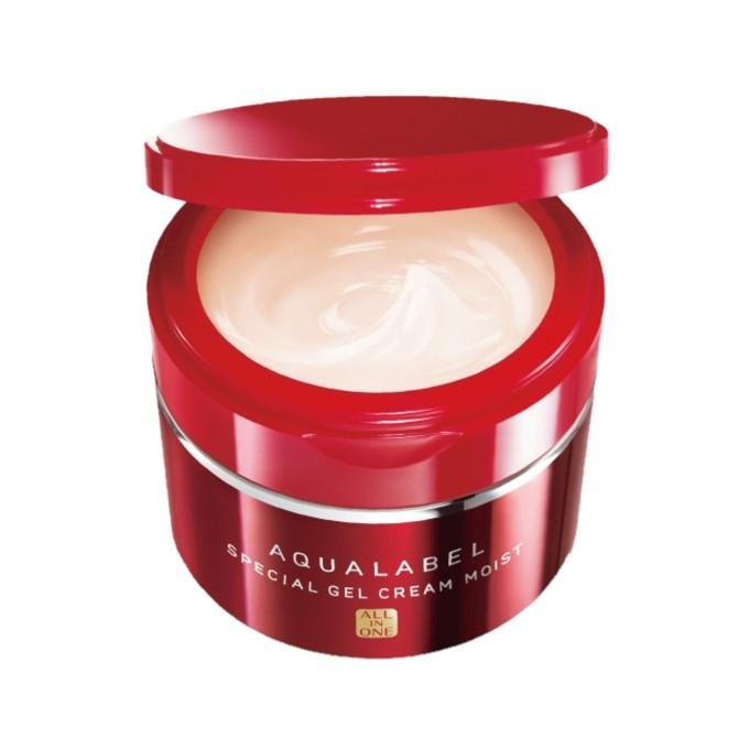 Shiseido - Aqualabel Special Gel Cream Moist All In One