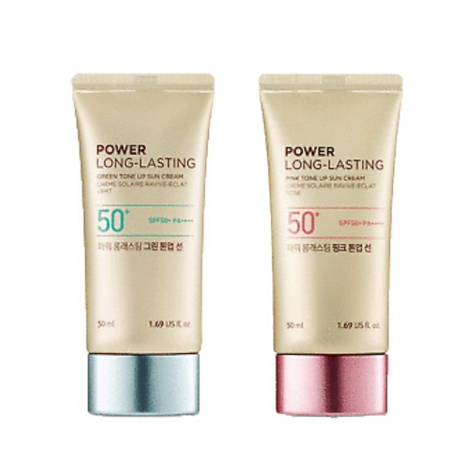 The Face Shop - Power Long Lasting Tone Up Sun Cream SPF50+ PA++++
