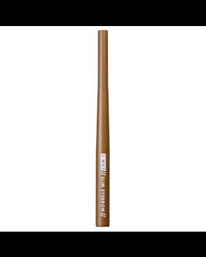 1028 - 2 Way Long-Lasting Slim Eyebrow - 01 Light Brown - 0.03+0.08g