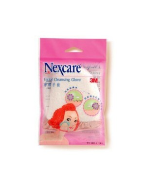 3M - Nexcare Microfiber Facial Cleansing Glove - 1pc