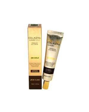 3W Clinic - Collagen & Luxury Gold Crème contour des yeux - 40ml