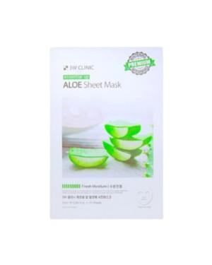 3W Clinic - Aloe Essential Up Masque de feuille - 1pack (10pcs)