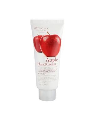3W Clinic - Crème hydratante pour les mains aux pommes - 100ml