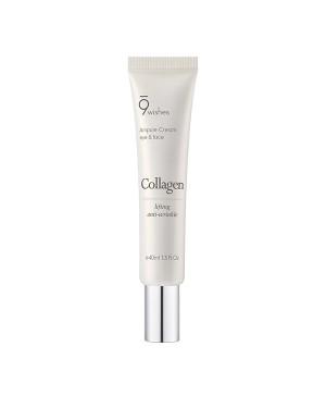 9wishes - Crème pour les yeux et le visage au collagène - 40ml