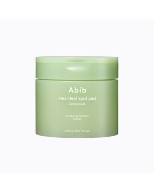 Abib - Heartleaf Spot Pad Calming Touch 75pads - 120ml