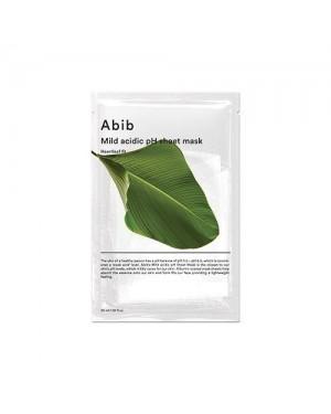 Abib - Mild Acidic pH Sheet Mask - Heartleaf Fit - 10pcs