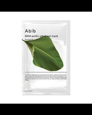 Abib - Mild Acidic pH Sheet Mask - Coupe Heartleaf - 5pcs