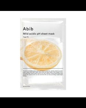 Abib - Mild Acidic pH Sheet Mask - Yuja Fit - 5pcs
