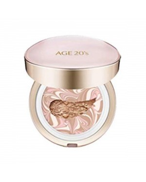 Age 20's - Signature Essence Cover Pact Pink Latte (with Refill) - 12.5g*2