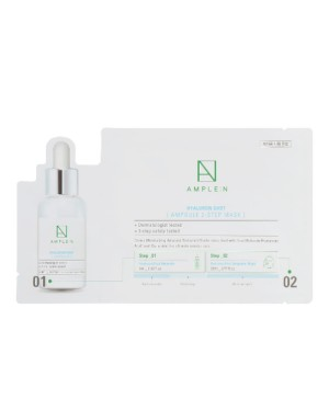 AMPLE:N - Masque HyaluronShot Ampoule en 2 étapes - (1ml+23ml)*10ea