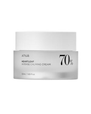ANUA - Crème calmante intense 70% Heartleaf - 50ml