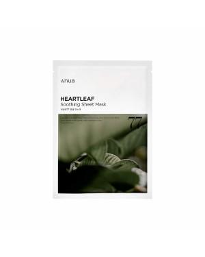ANUA - Heartleaf 77% masque en feuille apaisant - 1pc