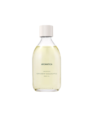 aromatica - Huile Corporelle Éveil - Menthe Poivrée & Eucalyptus - 100ml