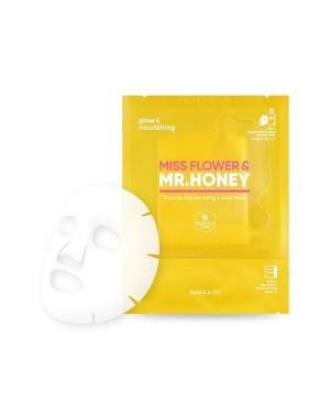 BANILA CO - Masque rajeunissant en 2 étapes Miss Flower & Mr.Honey Propolis - 1pc