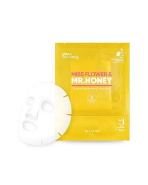 BANILA CO - Masque rajeunissant en 2 étapes Miss Flower & Mr.Honey Propolis - 5pcs