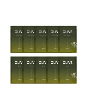 BARULAB - The Clean Vegan Masque d'olive - 10pcs