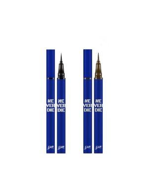Bbi@ - Never Die Brush Eyeliner - 0.4g