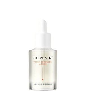 BE PLAIN - Ampoule éclaircissante à la vitamine - 30ml