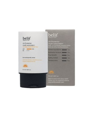 Belif - UV Protector Multi sunscreen+ SPF50+ PA++++ - 50ml