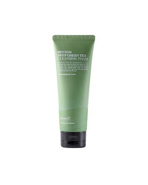 Benton (EU) - Deep Green Tea Cleansing Foam - 120g