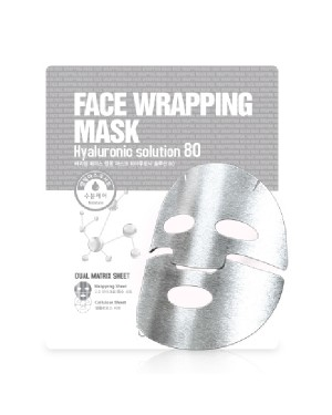 Berrisom - Face Wrapping Mask - Hyaluronic Solution 80