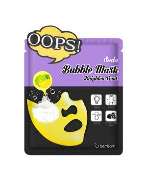 Berrisom - Oops! Soda Bubble Mask Brighten Fruit - 5pcs