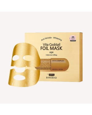 BNBG - Vita Masque en feuille de cocktail - Âge - 10pcs