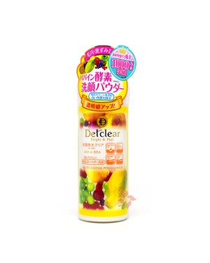 brilliant colors - MEISHOKU - DETCLEAR Bright & Peel Fruit Enzyme Powder Wash - 75g