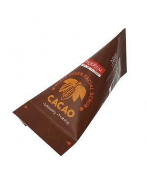 PUREDERM - Gommage facial au sucre noir en forme de pyramide - Cacao - 20g