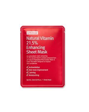 ByWishtrend - Natural Vitamin 21.5% Enhancing Sheet Mask - 1ea