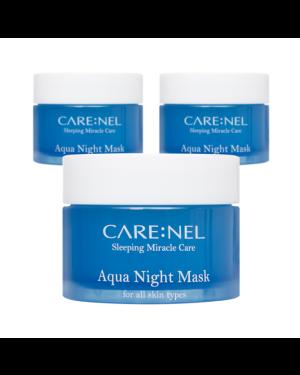 CARE:NEL - Ensemble de masques Aqua Night - 15ml*3ea