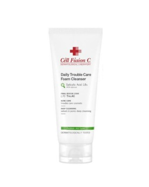Cell Fusion C - Daily Trouble Care Foam Cleanser - 130ml