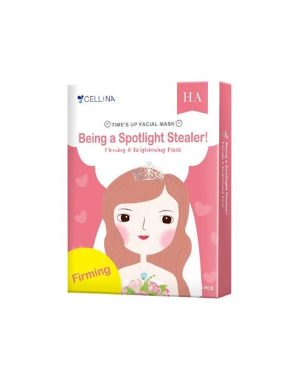 CELLINA - Time's up Facial Mask Firming & Brightening Mask - 5PCS