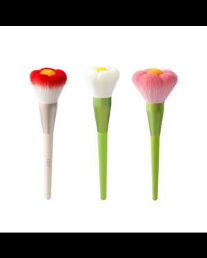 CICI - Pinceau de maquillage en forme de fleur n ° 1 (pour poudre libre) - 1pc