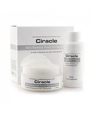 Ciracle - Skin Renewal Home Peeling Pads -70ml+35pcs