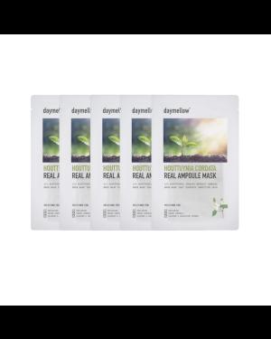 daymellow' - Houttuynia Cordata Real Ampoule Mask - 27ml*5ea