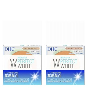 DHC - Medicated Fond de teint en poudre Whitening Perfect White - 10g