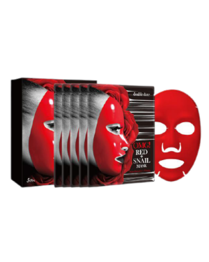 double dare - OMG! Masque d'escargot rouge - 5pcs