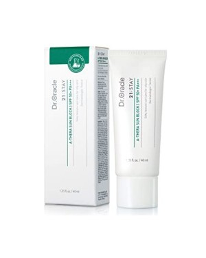 Dr. Oracle - 21;STAY Crème solaire A-Thera (SPF 50+ PA +++) - 40ml