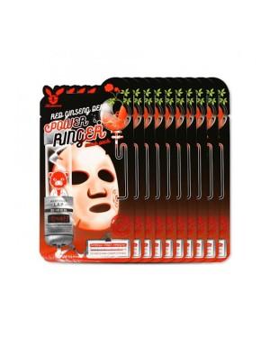 Elizavecca - Pack de masques à sonnerie au ginseng rouge